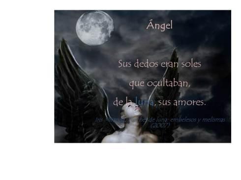 Ángel, poema de Noches de Luna...(Orbis-2007)